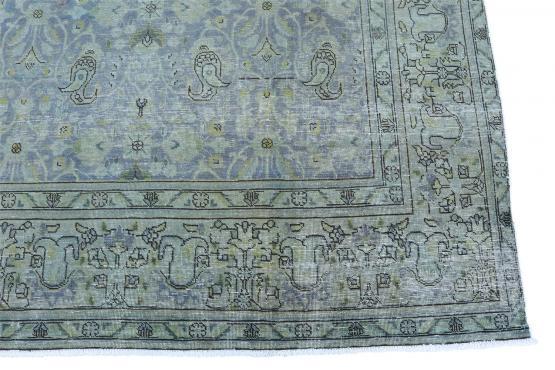 59288 Vintage Persian Overdye 9'4