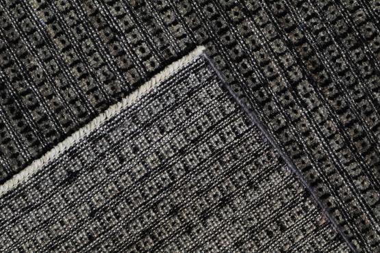 59291 Modern Black Rug 8'x10'
