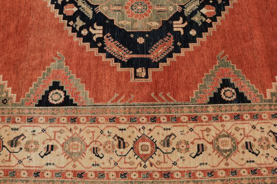 59301 Pakistani Multi Color Rug 9'x13'8