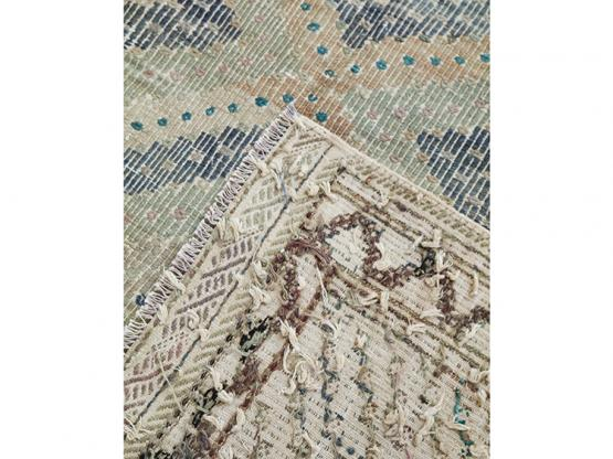 59591 Antique Turkish Flat-weaves 5'10