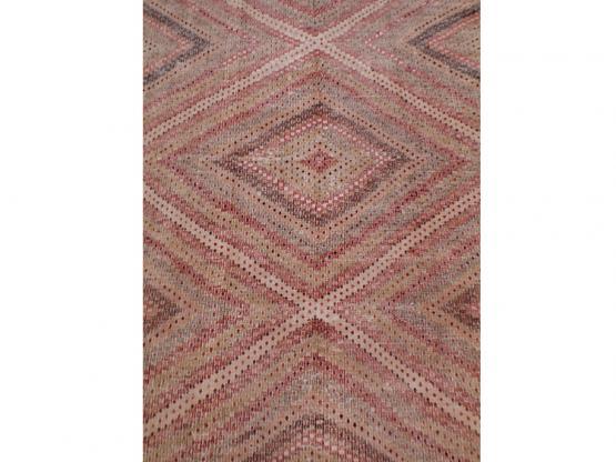 59602 Antique Turkish Flat-weaves 6'x10'