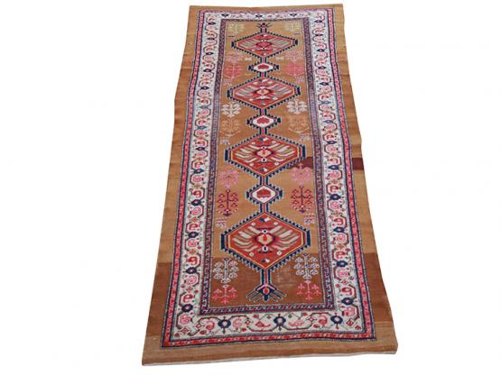 60083 Antique Persian Sarab Runner 3'8