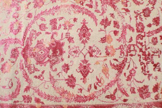 60118 Ganga hand knotted- 9'11x14'2'