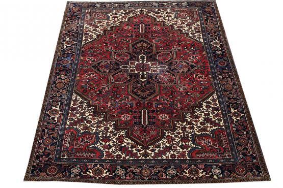 Old Gorovan Heriz Persian Rug Size 8'8