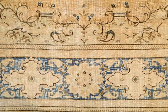 60316 Multi Color Antique Persian Kerman Rug Size 8'2'x1'2