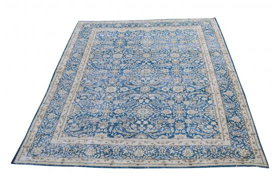 60321 Persian Antique Kerman Rug Size 9'7