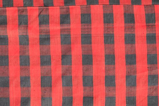 60401 Turkish Modern Handmade Flatweave Rug Size 5'7