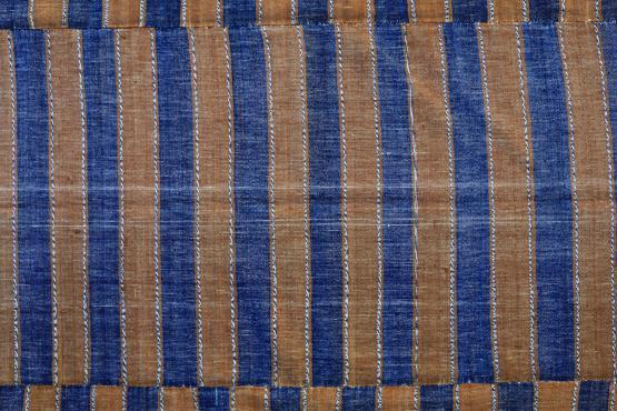 60405 Turkish Modern Handmade Flatweave Rug - 5