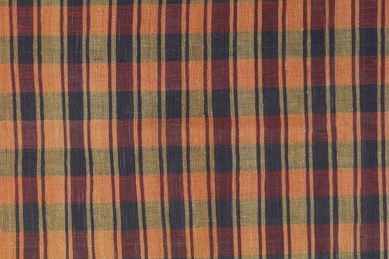60411 Antique Turkish Handmade Flatweave Rug Size 8'4