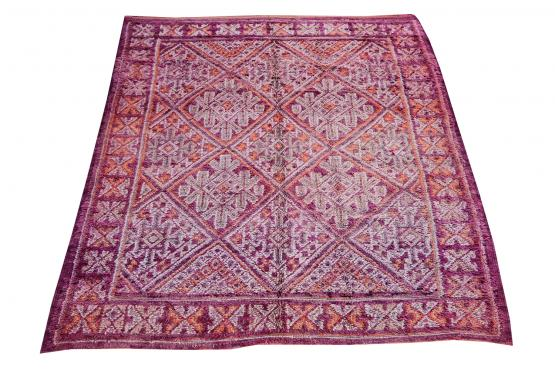 60614 Vintage Moroccan Berber 7'8