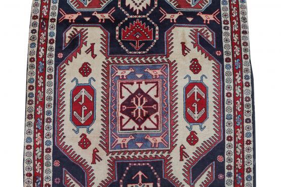 60643 Antique Azari Runner - 4