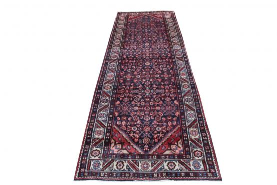 60645 Antique Malayer Rug 3′7″ × 11′8″