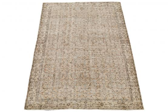 60862 Vintage hand knotted 9'1