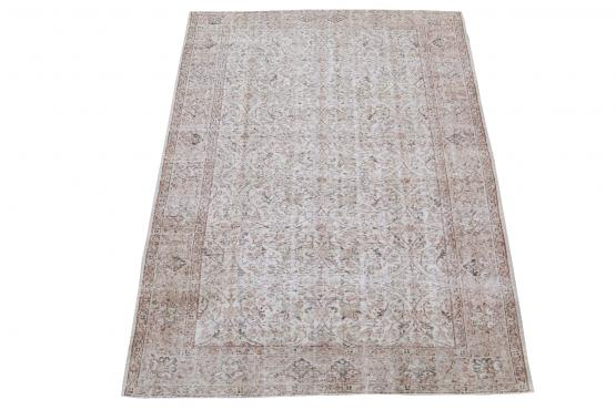 60864 Vintage hand knotted 9'1