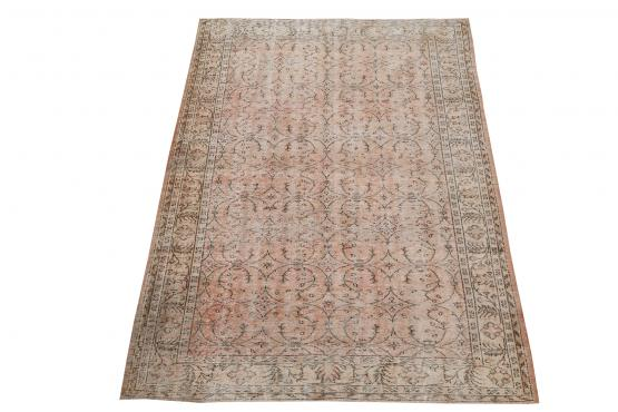 60872 Vintage hand knotted 9'1