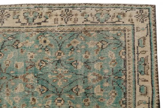60884 Vintage hand knotted 8'6