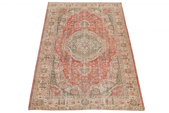 60887 Vintage hand knotted 8'10