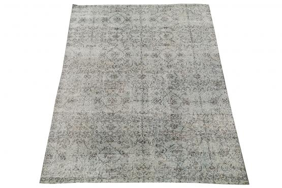 60896 Vintage hand knotted 8'4
