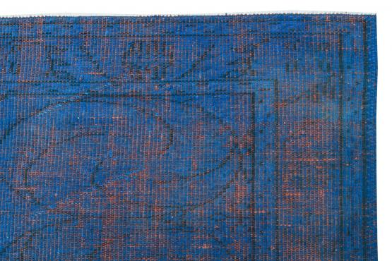 60897 Vintage hand knotted 8'9
