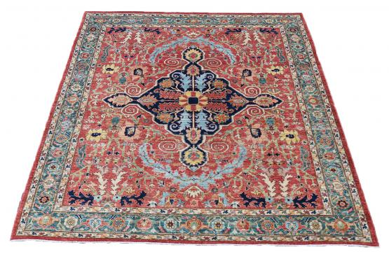 62021 Hand Knotted Rug 9'8