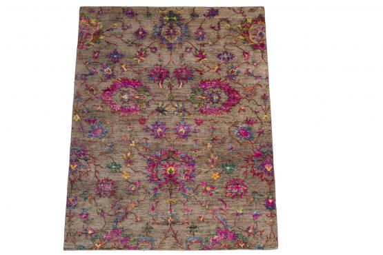 61022 Sari Silk and Wool Contemporary 8'x10'