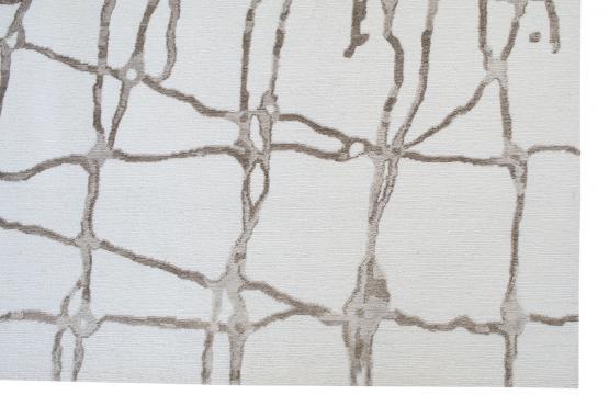 61030 Modern Bamboo Silk Hand-knotted 8'x9'11