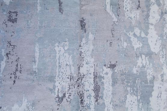 61031 Modern Bamboo Silk Hand-knotted 8'x10'