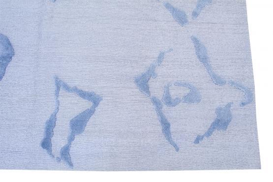 61034 Modern Bamboo Silk Hand-knotted 8'x9'10