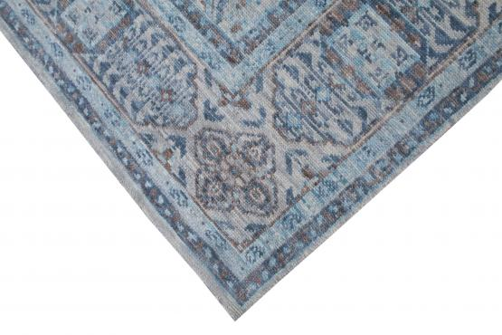 61087 Hand Knotted Wool Rug 8'4