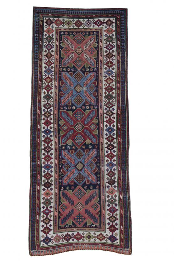 61143 Antique Talish Rug 9''1