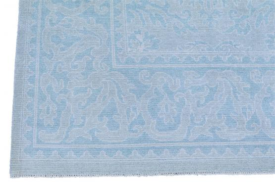 61149 Old Persian over dyed carpet 14'2
