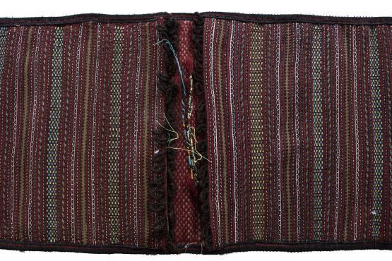 61271 Old Persian Tribal bag double bag 1.8x3.7