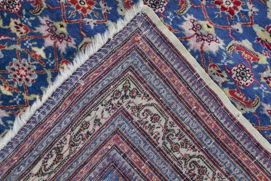 61284 ANTIQUE FARAHAN WITH DATE 4'x6'3