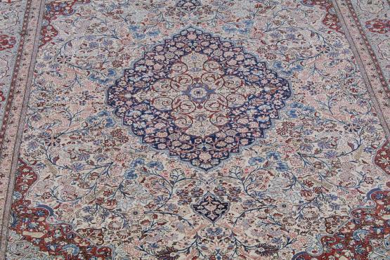 61293 Antique Fine Persian Kashan carpet Kashan