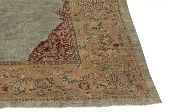 61305 Antique Sultan Abad carpet 10'3