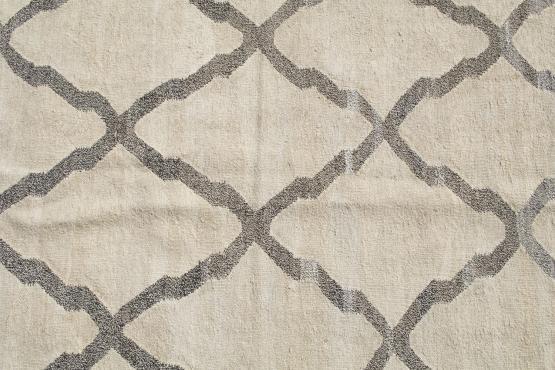 61327 Turkish Kilim woven with old Wool 10'x7'9