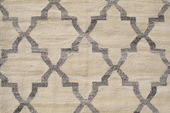 61328 Turkish Kilim Woven with old Wool 10'3