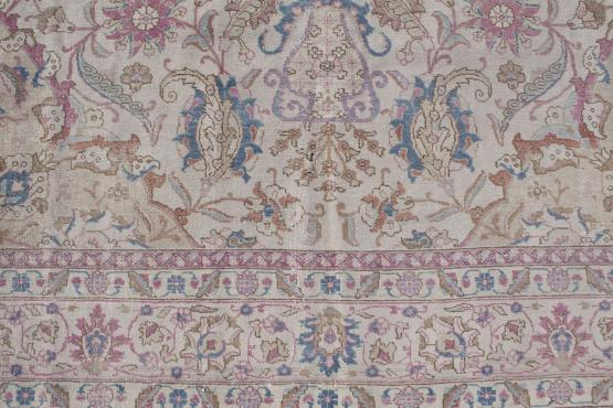 61343 Antique Tabriz 11'1
