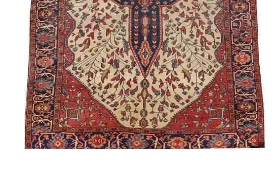 61377 Antique Persian Ferahan 4'8