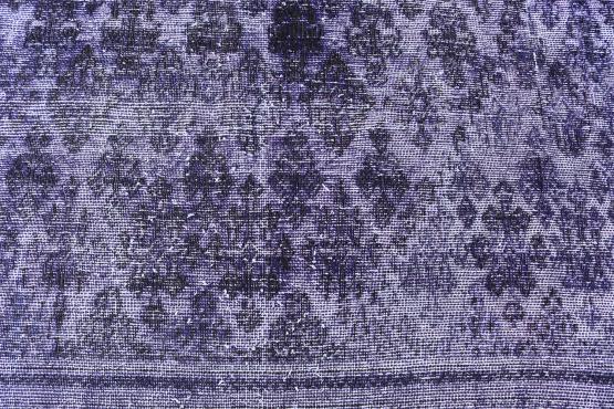 61406 Antique Persian Tabriz over dye rug 9'1