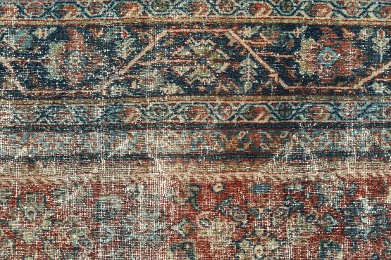 61418 Antique Mahal carpet 12'5