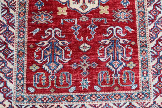 61457 Shirvan Design hand made rug 5'x3'2