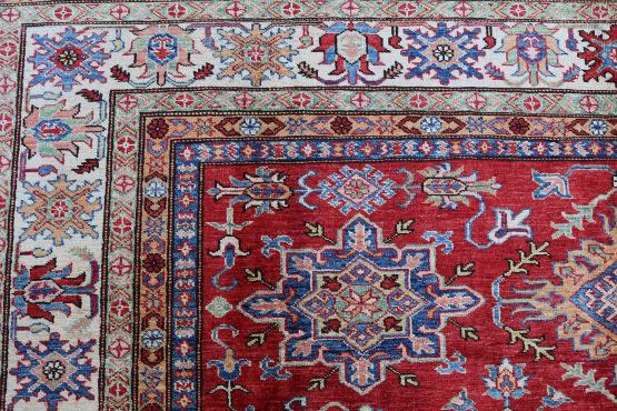61464 Shirvan Design hand made carpet  9'9