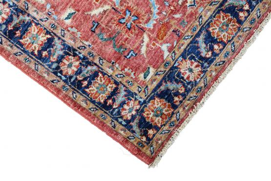 61468 Shirvan Design hand made runner 7'8