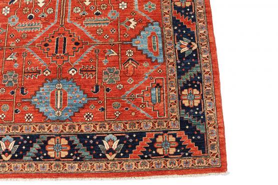 61496 Antique Heriz design rug 9'5