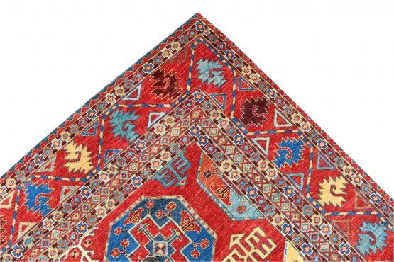 61498 Antique Turkman design rug 10'2