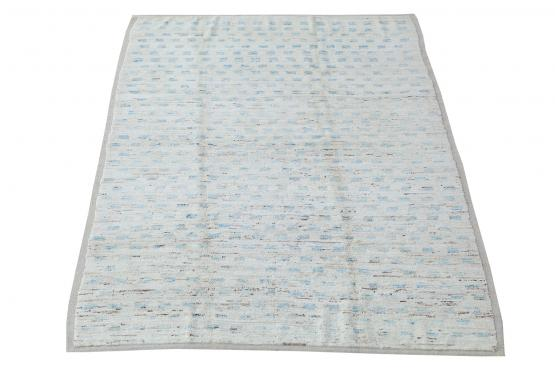 61701 All Wool Hand Made Moroccan Style 8'9