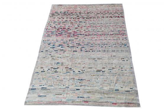 61702 All Wool Hand Made Moroccan Style 9'7