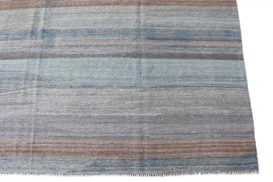 61708 Hand Knotted Modern Kilim 11'6