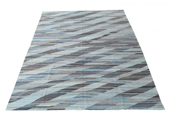 61709 Hand Knotted Kilim 13'10